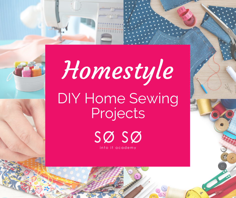 Homestyle DIY Home Sewing Projects